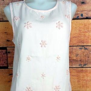 Vero Moda blush pink  sleeveless top size small